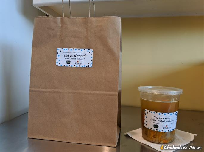 This Thanksgiving, hot chicken soup will be part of food packages delivered to the homebound and needy.