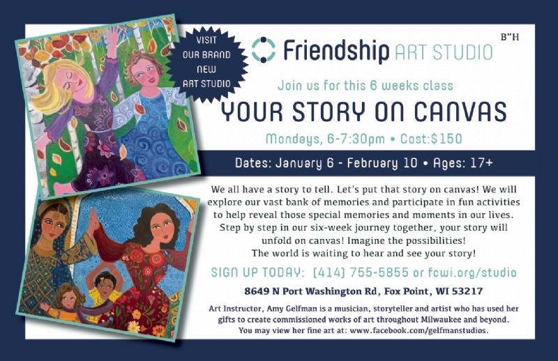 Friendship Art Studio - Workshop Your Story On Canvas Final