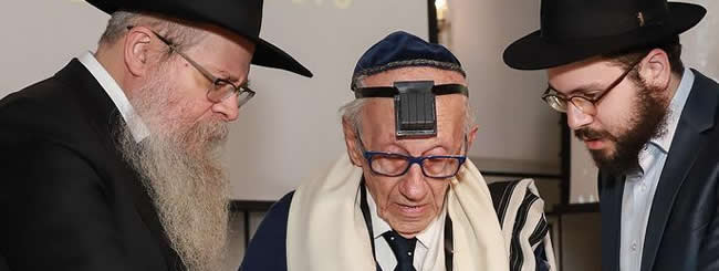 Untitled: The Only Known Brazilian-Born Holocaust Survivor Celebrates a Bar Mitzvah at 91