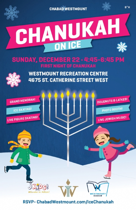 Chanukah on Ice 2019