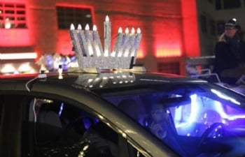 Car Menorah Parade & Celebration at the Alamo