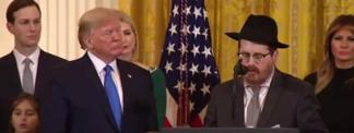 At White House, Chassidim Recognized for Getting Criminal Justice Reform Done