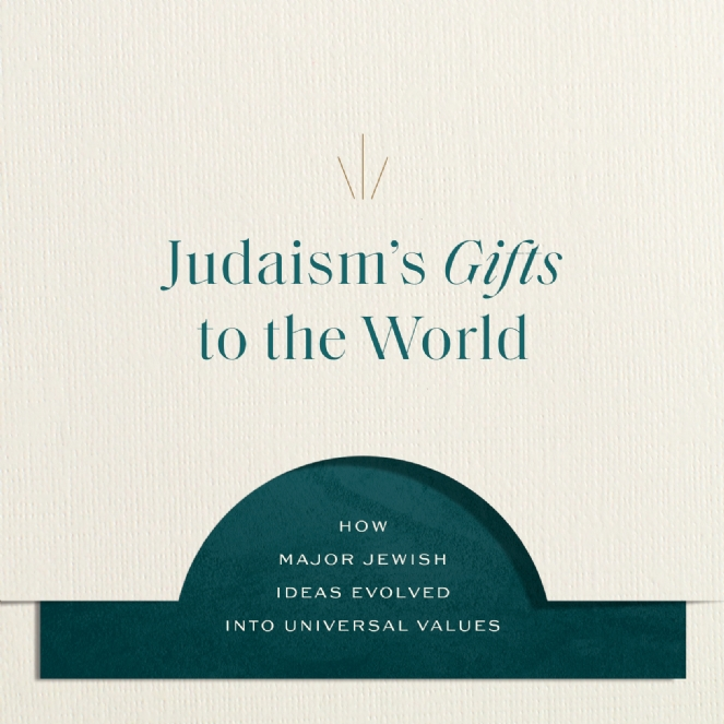 JLI: Judaism's Gifts to the World