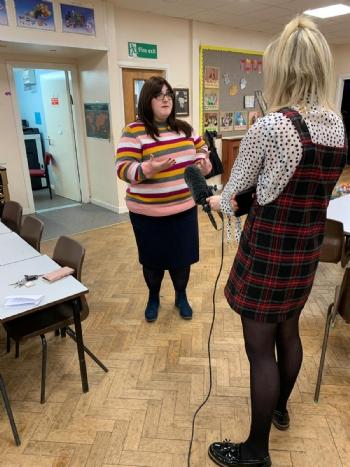 ITV Calendar visits HCC