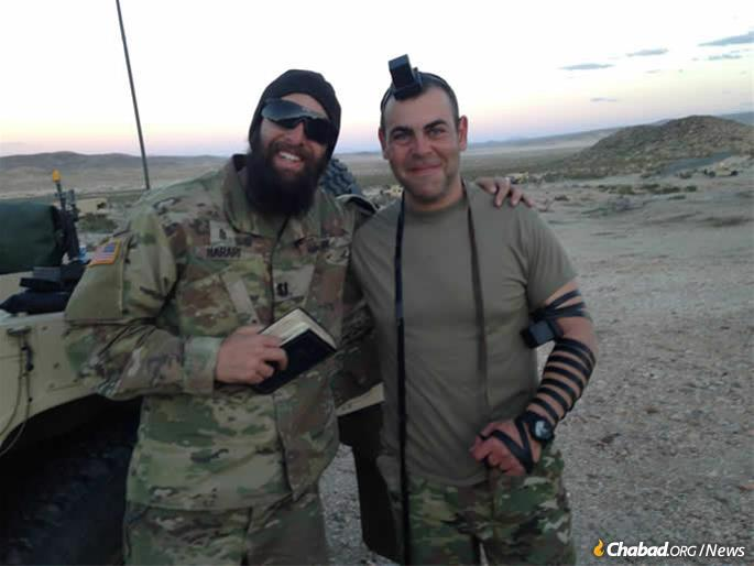 Chaplain Michoel Harari will bring Chanukah to Fort Riley, outside of Junction City, Kan. It's an isolated area—the nearest grocery store with kosher meat and cheese is in Kansas City, Mo.—but he feels like he makes a bigger impact this way.
