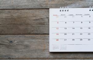 Calendar 2019/20
