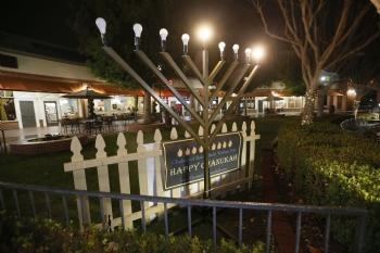 Bakersfield's Annual Public Menorah Lighting