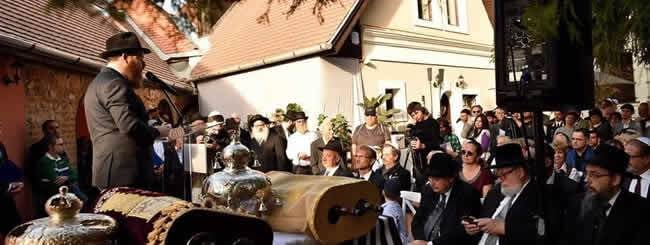 December 2019: Chanukah Flame in a Hungarian Village Rises From the Ashes of the Holocaust