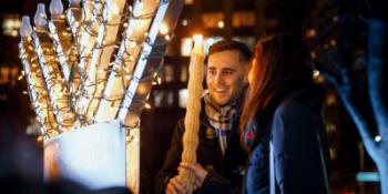 Madison Square Park Menorah Lighting Festival