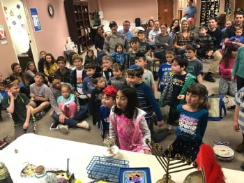 Hebrew School Chanukah Workshop
