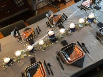 Chanukah CommUNITY Shabbat Dinner 19