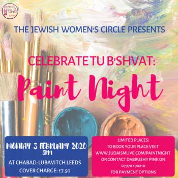 JWC Tu B'Shvat Paint Night