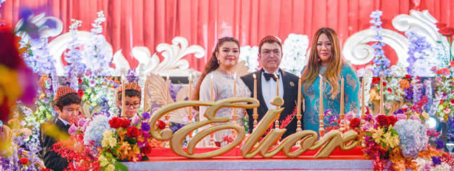 Cambodian Royal Family Celebrates Its First Bat Mitzvah