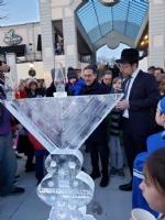 Grand Ice Menorah Lighting 2019
