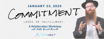 Commitment leads to Fulfillment   Relationships Workshop