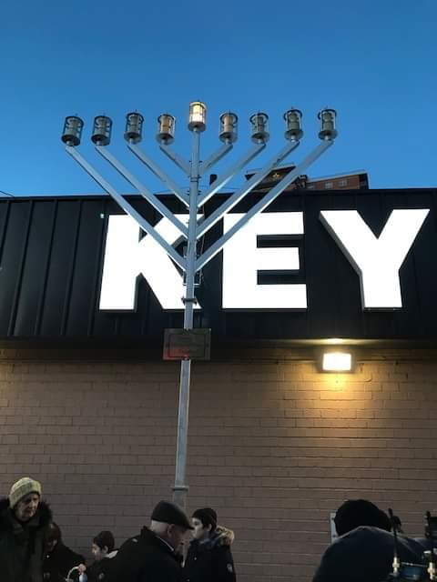 Coney Island, New York - Publicizing the Chanukah Miracle