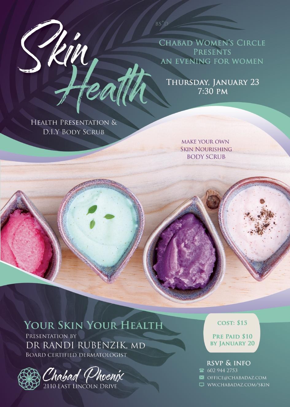 Skin Health @ Chabad Phoenix