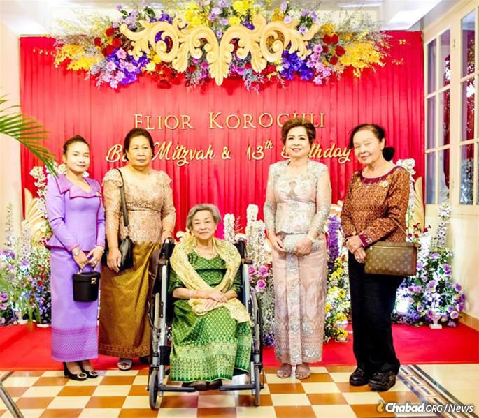 Elior's grandmother, center, is the daughter of King Monivong, who ruled Cambodia until his death in 1941. (Photo: Kang Predi/Teh Ranie)