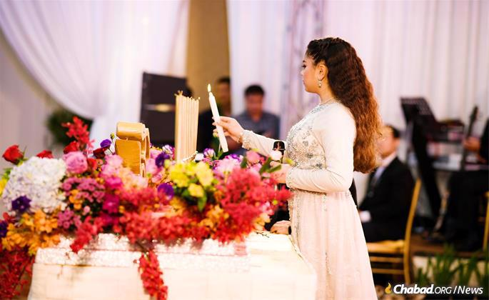 Elior's bat mitzvah was the first Jewish milestone ever celebrated by the Cambodian royal family and the first time many of the royals ever tasted food from a kosher kitchen. (Photo: Kang Predi/Teh Ranie)
