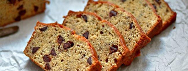 Cakes: Banana Peanut Butter Loaf Cake