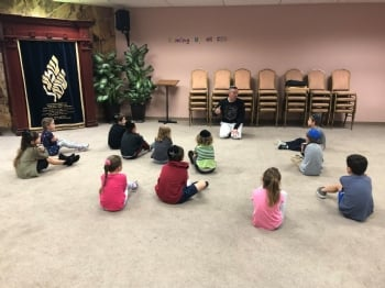 Hebrew School Character Counts with Master Ivan