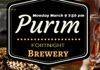 Purim Fortnight Brewery