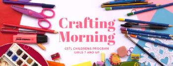 Girls Crafting Morning