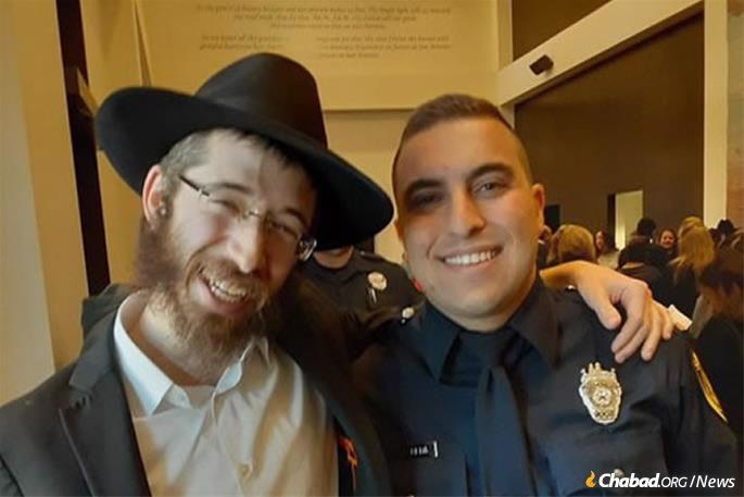 Rabbi Eli Nochum Block grew up together with Frydberg in San Antonio.