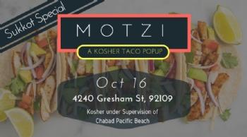 The Motzi Taco Popup - Sukkot Special 2019