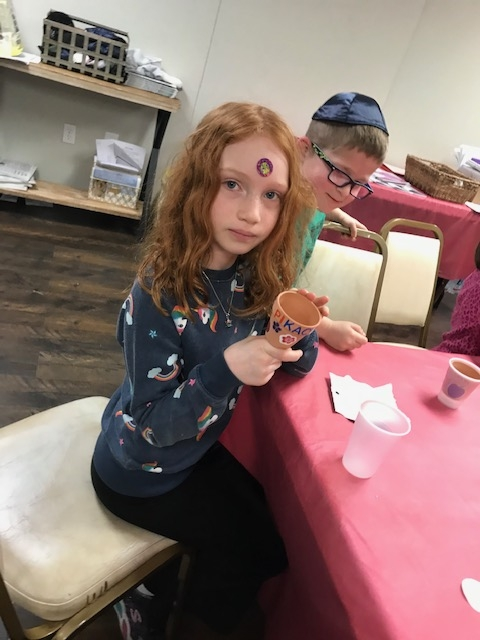 2-9-2020/5780 Doing crafts and projects for Tu B'Shvat!