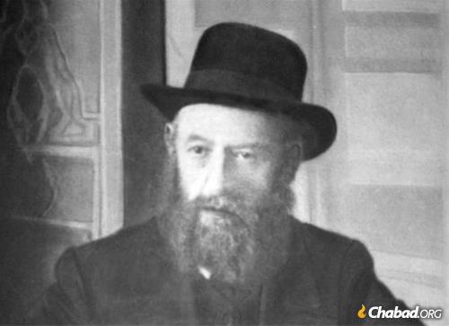 The fifth Chabad Rebbe, Rabbi Shalom DovBer Schneersohn.