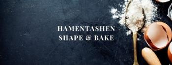 Hamentashen Shape & Bake