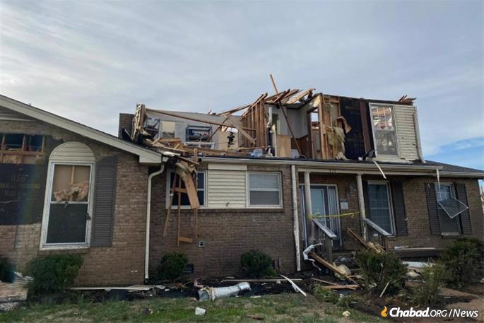 The tornado killed 24 and left hundreds homeless.