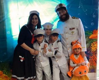 Purim under the sea 2020