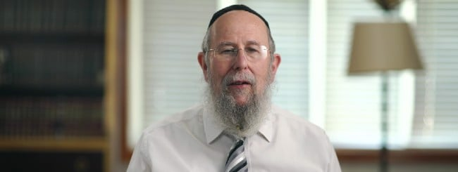 March 2020: Rabbi Yehuda Refson, 73, Senior Rabbi in Leeds, England