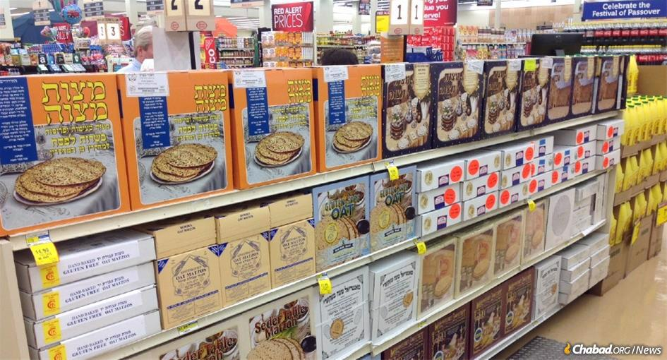 Matzah, the traditional round handmade discs and the boxed machine variety, will be widely available this year. Supermarkets in Los Angeles, New York, London and Australia are fully stocked. Chabad-Lubavitch emissaries who often serve as sole distributors of shmurah matzah in smaller cities and towns have received their stocks as well.