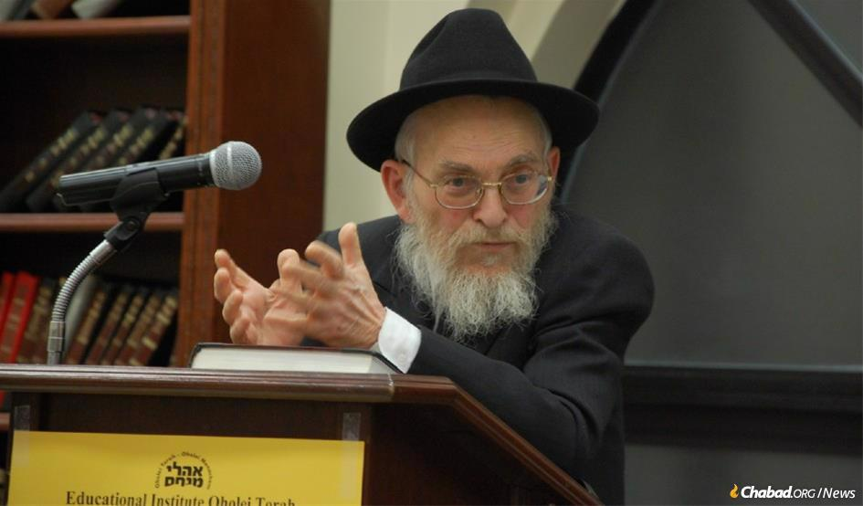"Rabbi Yisroel Friedman served as the senior rosh yeshivah (head of the academy) at Talmudic Seminary Oholei Torah in Brooklyn, N.Y., for more than 50 years. He became known as the very personification of ""a Chassidisher rosh yeshivah."" He was also a member of the Central Committee of Chabad-Lubavitch Rabbis (Vaad Rabonei Lubavitch Haklali)."