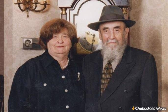 Mrs. Dusia Rivkin, and her husband, Mordechai Rivkin, were involved in a long list of projects initiated by the Rebbe.