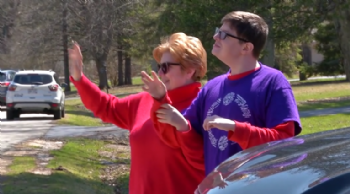 Friendship Circle organizes drive-by parade for people with disabilities