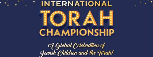 March 2020: Jewish Kids' International Torah Competition Moves Online