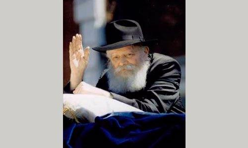 Menachem Mendel Schneerson – o Rebe Lubavitch – na parada de LagBaOmer no Brooklyn, Nova York, em 17 de maio de 1987 Foto: Mordechai Baron via Wikicommons