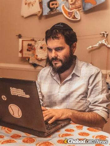 Rabbi Eliezer Zalmanov has seen an influx of questions related to the pandemic and Passover.
