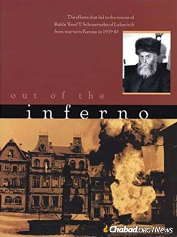 Rebbetzin Altein, together with her grandson Rabbi Eliezer Zaklikovsky, co-authored a detailed archival chronicle of the dramatic campaign led by her father, Rabbi Yisroel Jacobson, on behalf of the Sixth Rebbe: 'Out of the Inferno: The Efforts That Led to the Rescue of Rabbi Yosef Yitzchak Schneersohn of Lubavitch from War Torn Europe in 1939-40' (Kehot Publication Society, 2002).