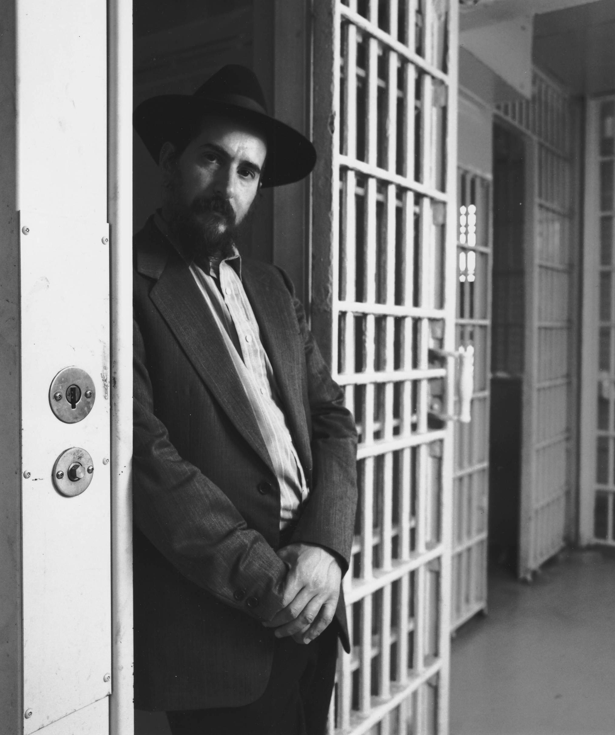 Scheiman in prison.JPG