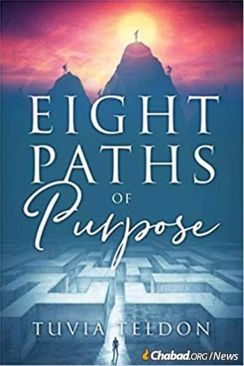 "The book ""Eight Paths of Purpose"" serves as the foundation of the course."