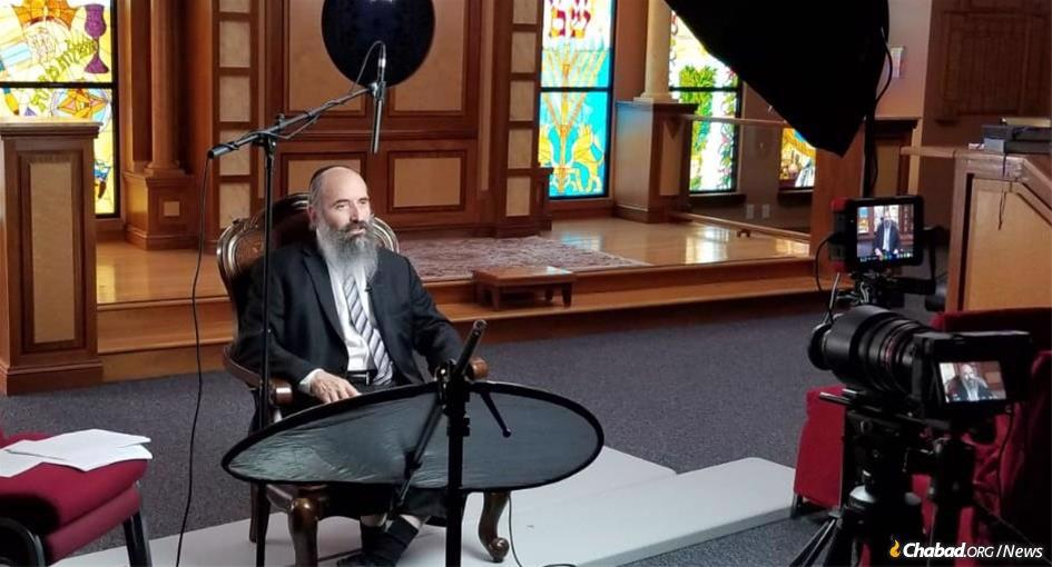 "Rabbi Tuvia Teldon will host ""Your Path to Purpose,"" a four-week video course on Chabad.org beginning on Thursday, April 30."