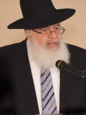 Rabbi Yisroel Yechezkel Plutchok (Photo: Hamodia)