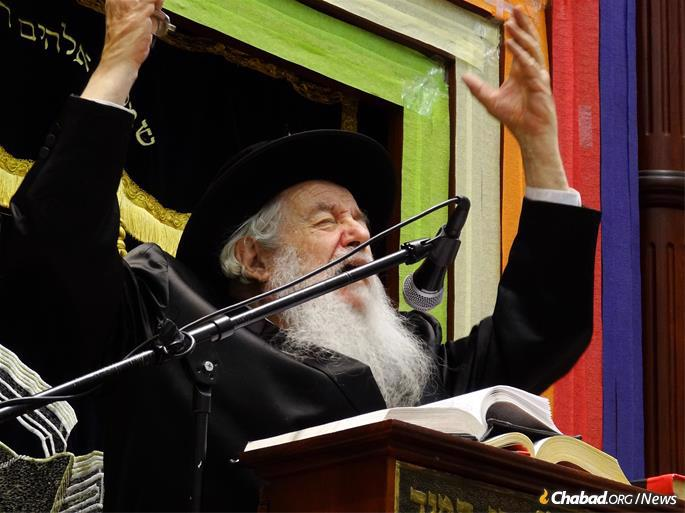It was his background in a range of institutions that gave him the rare ability to reach out to a cross-section of the community. His fluent English—rare for a Chassidic Rebbe—further enabled him to cast the widest net possible.