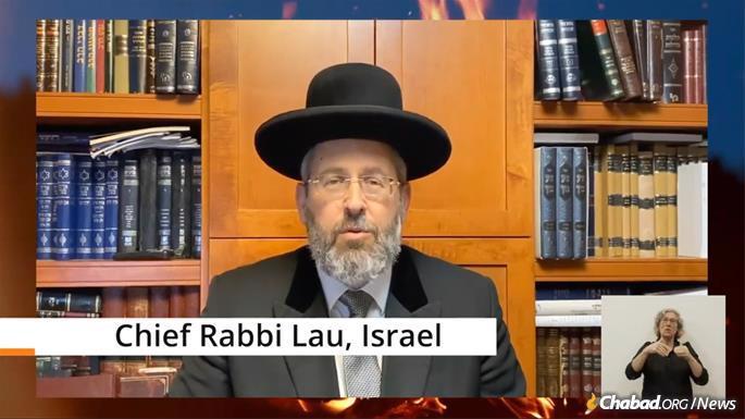 Rabbi David Lau, Ashkenazi Chief Rabbi of Israel