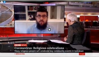 BBC News: Chabad Innovates Under Lockdown
